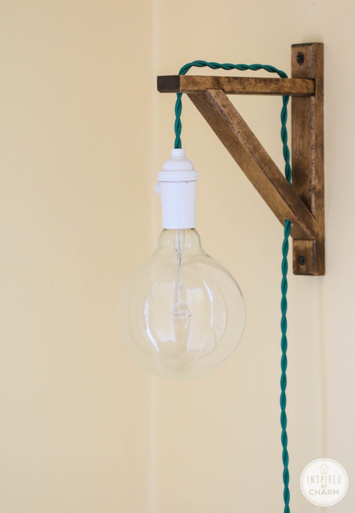 DIY Pendant Sconce | Inspired by Charm