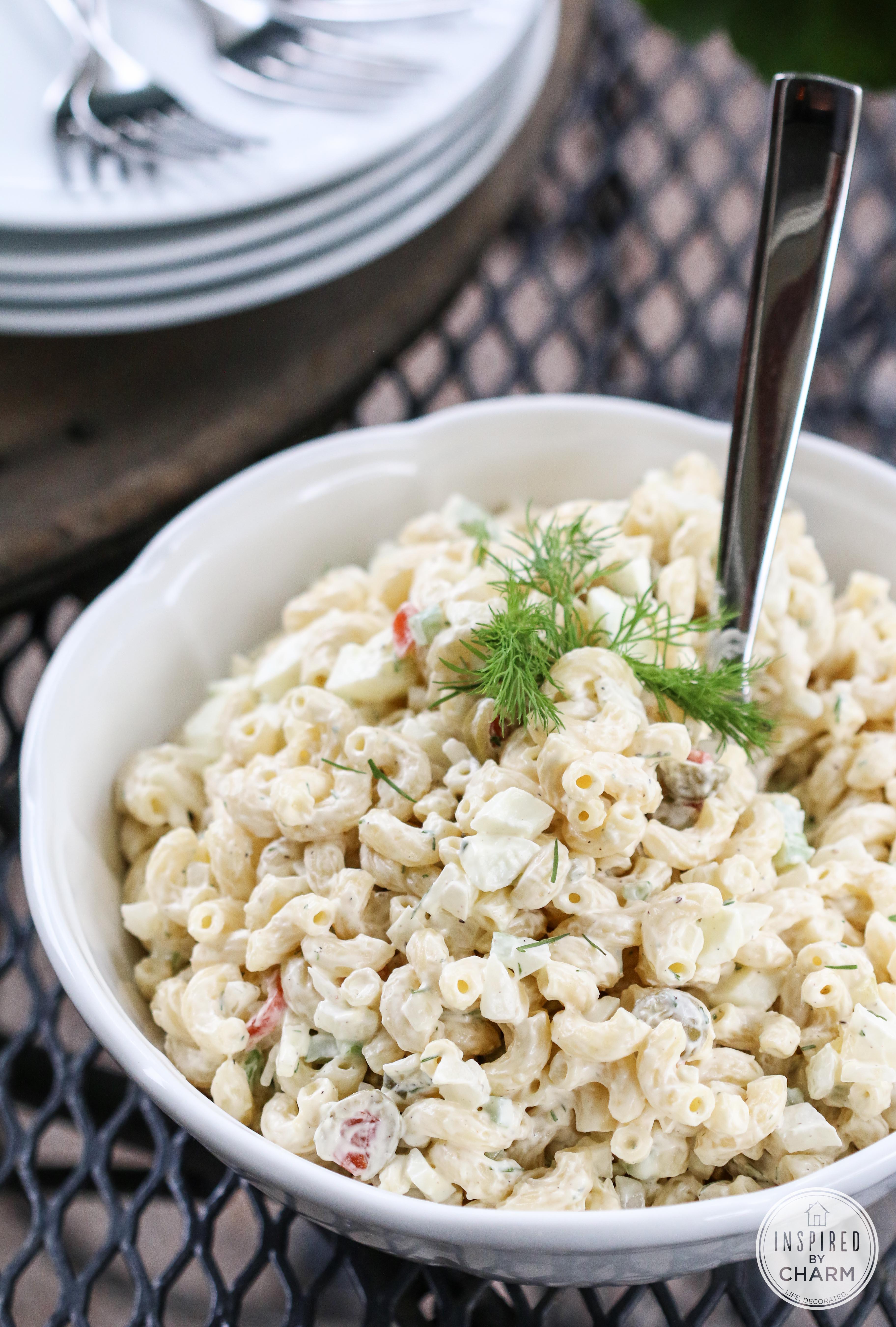 Really Good Macaroni Salad #macaronisalad #recipe #pasta #salad #macaroni