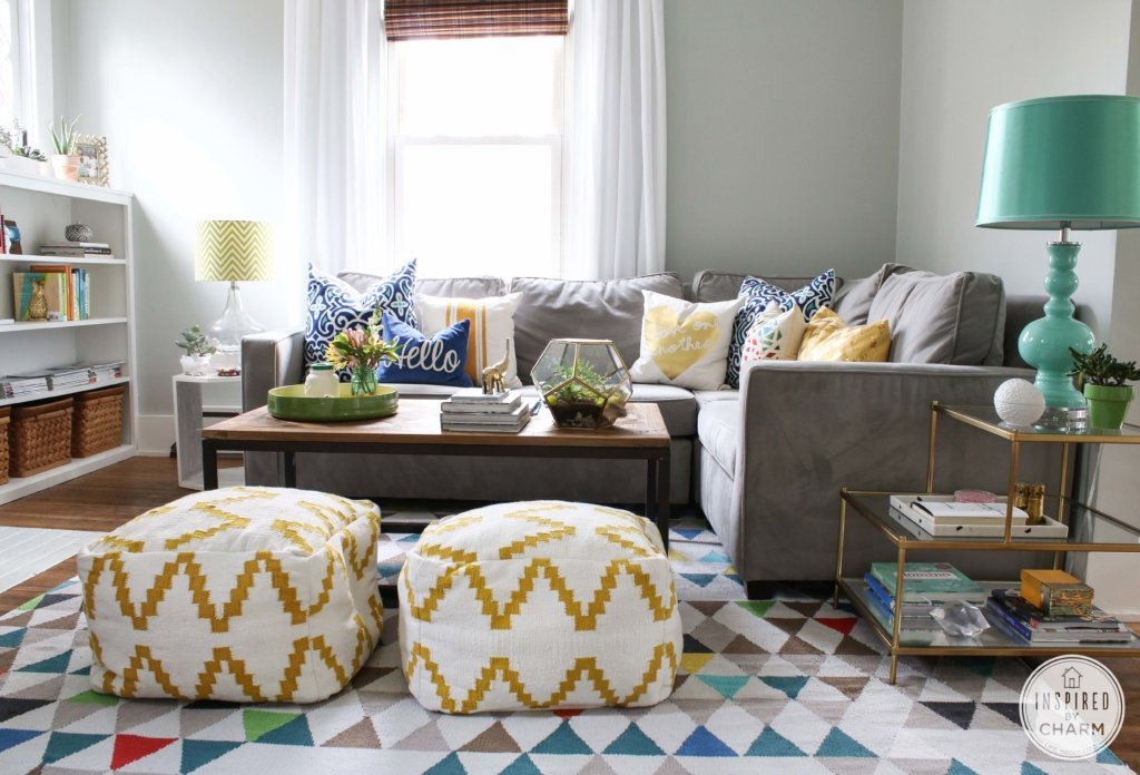 Summer Home Tour | Inspired by Charm #STOH2014