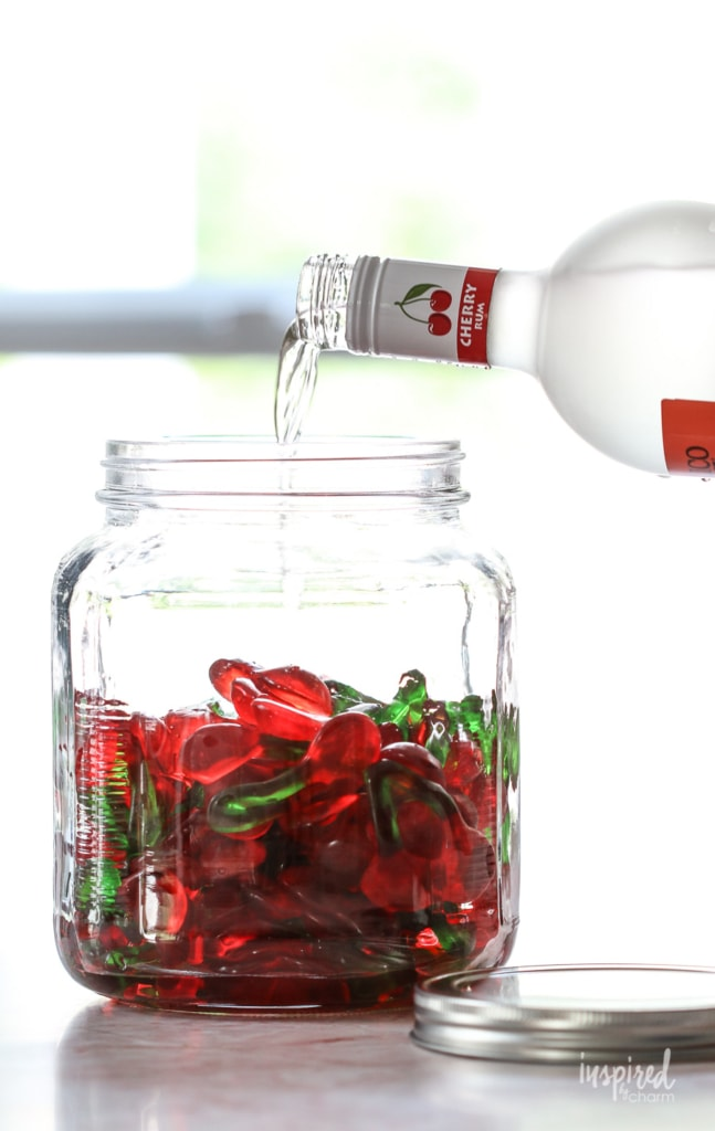 Rummy Cherries (Alcohol Soaked Gummies) #gummybears #rum #cocktail #cocktails