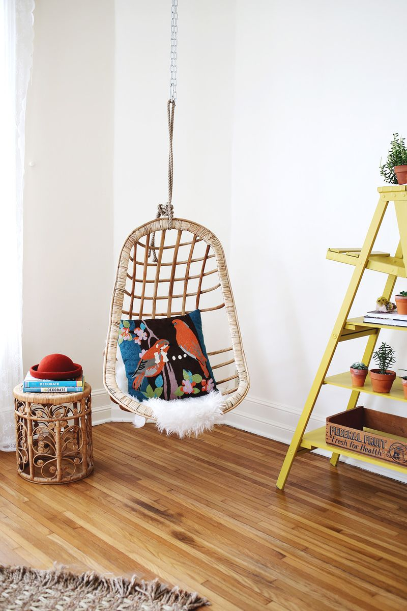 hanging chairs and taking names inspired by charm