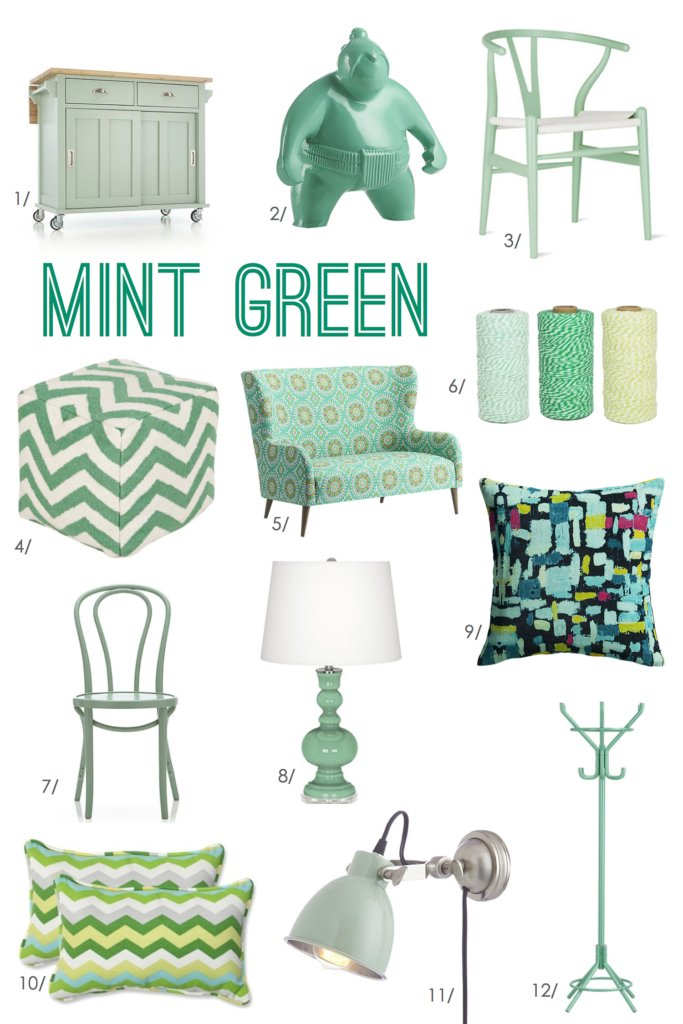 For the Love of Color: Mint | Inspired by Charm