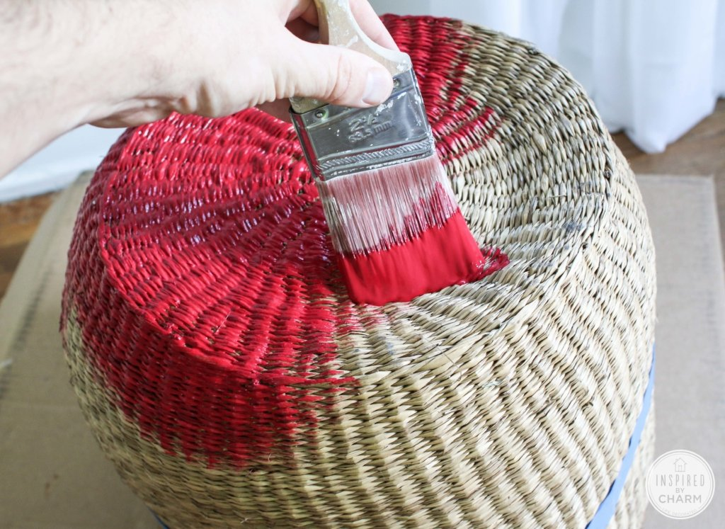 Paint Dipped Basket |Inspired by Charm