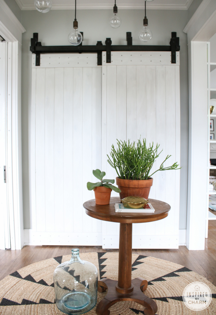 Painted Barn Doors | Inspired by Charm