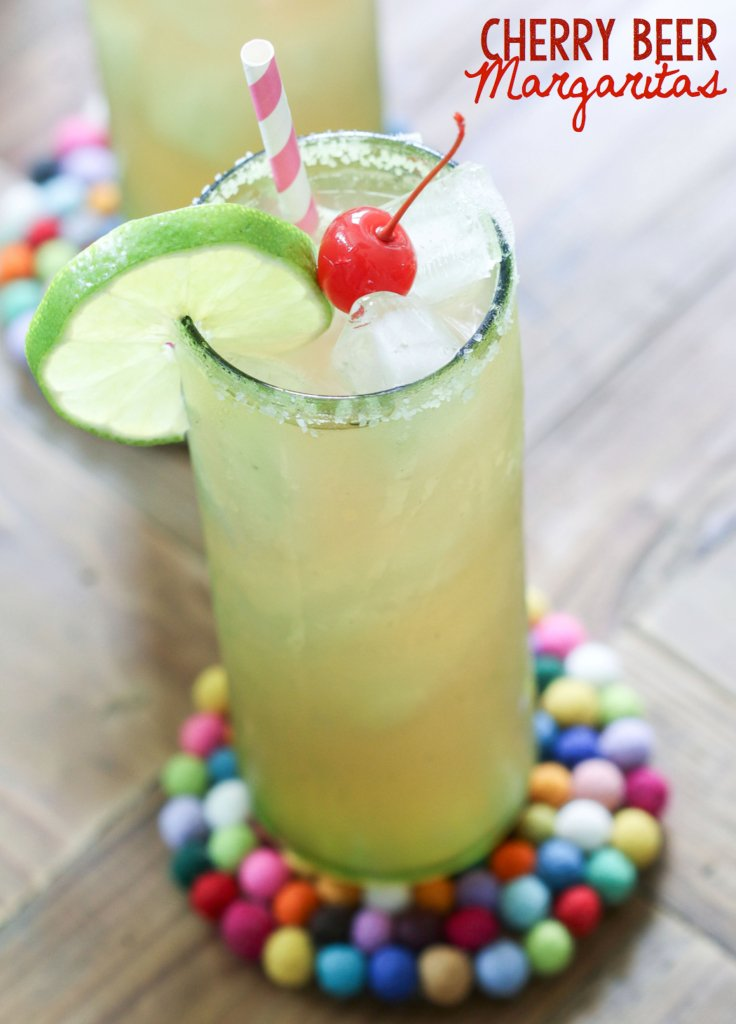 Cherry Beer Margaritas | Inspired by Charm for RedEnvelope