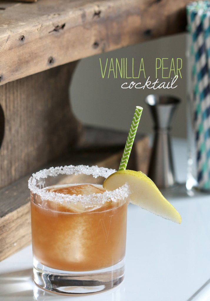 Pear Vanilla Cocktail | Inspired by Charm