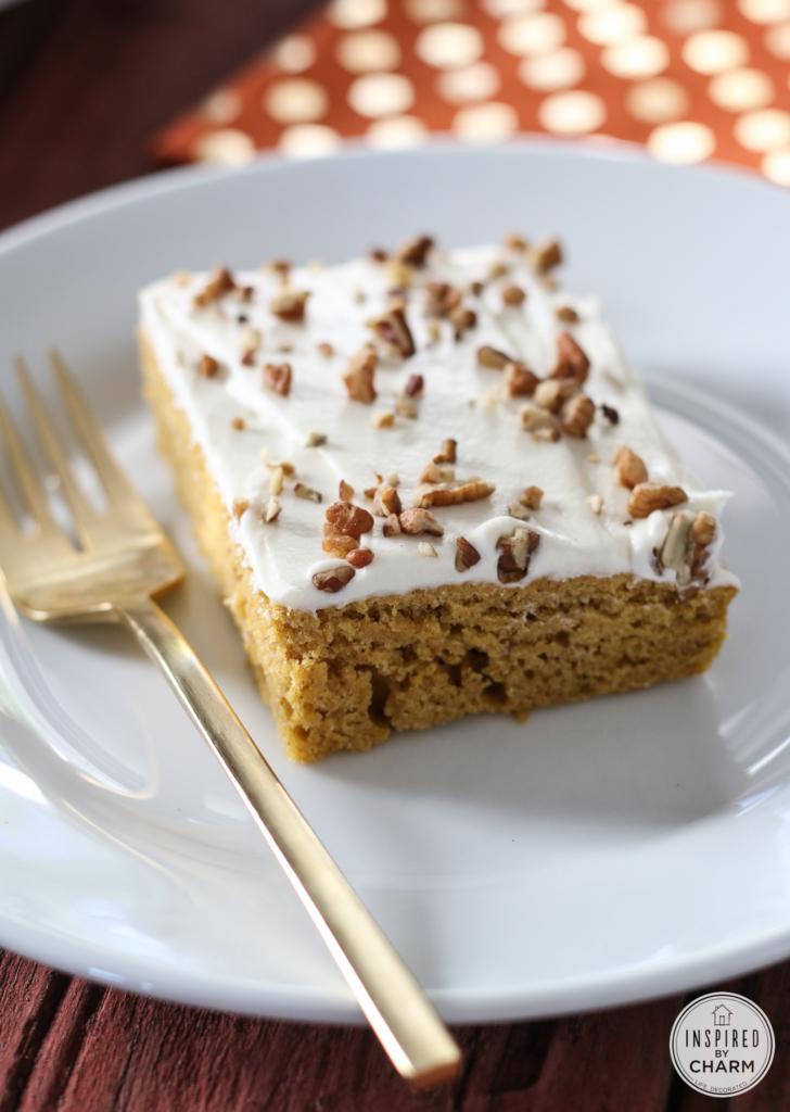 Delicious and Easy Pumpkin Bars #fall #pumpkin #bar #dessert #recipe