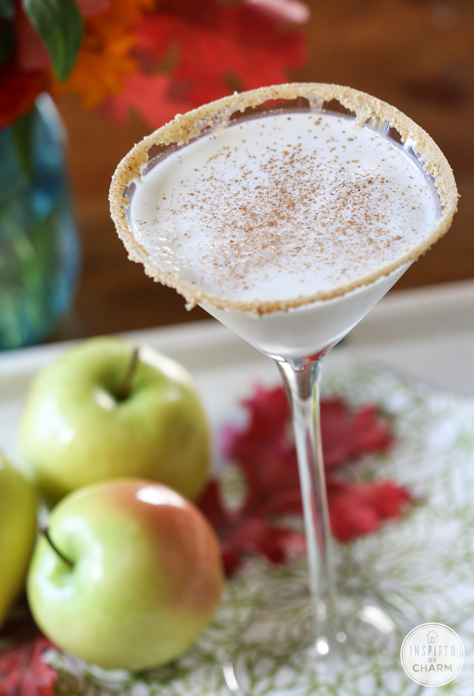 Caramel Apple Pie Martini | Inspired By Charm