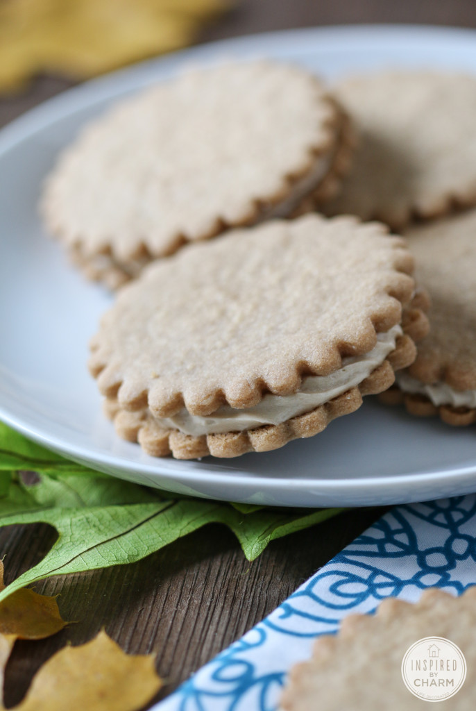 Maple Cream Sandwich Cookie