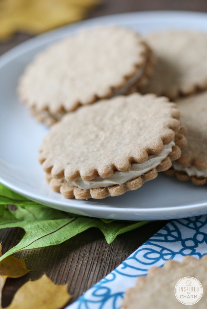 Maple Cream Sandwich Cookie #maple #cream #cookie #recipe #baking