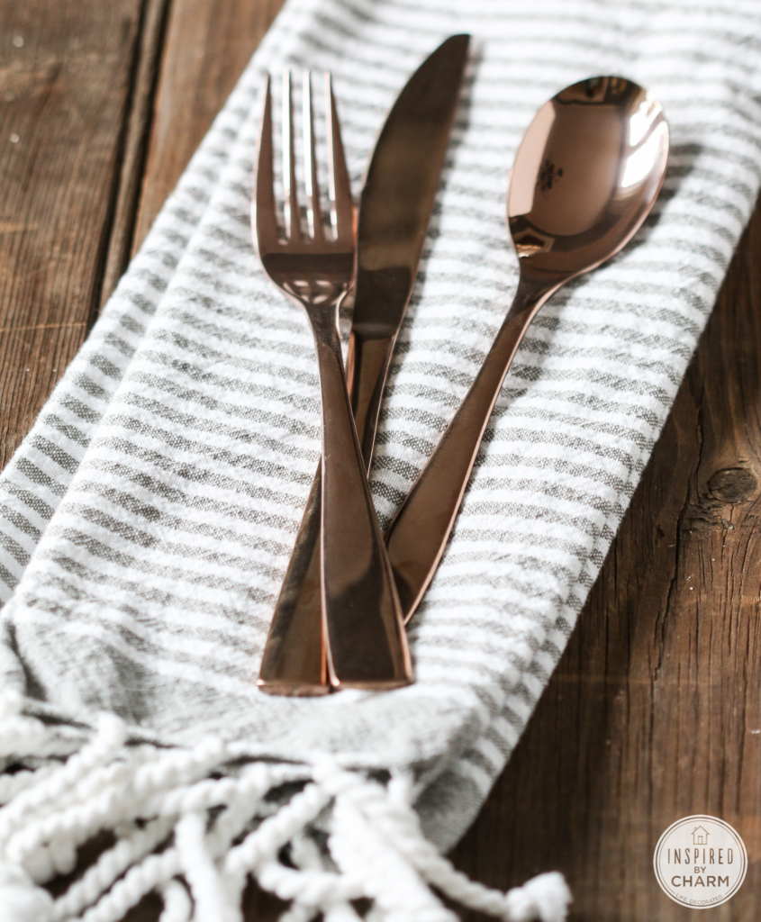 Threshold Copper Flatware from Target