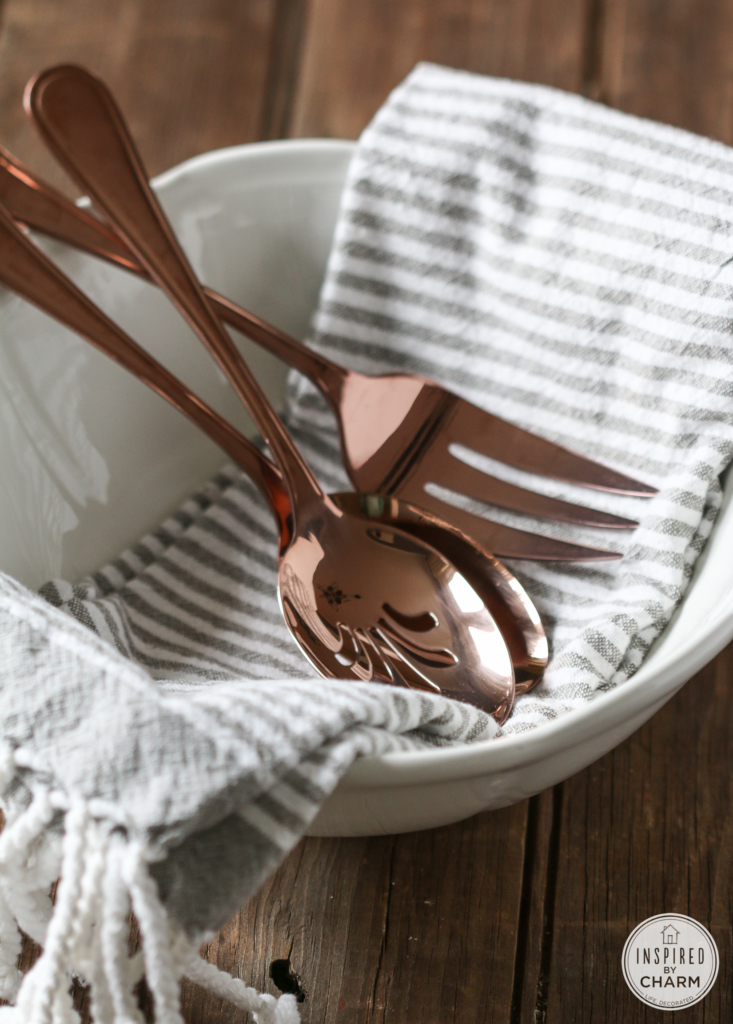 Threshold Copper Serveware from Target