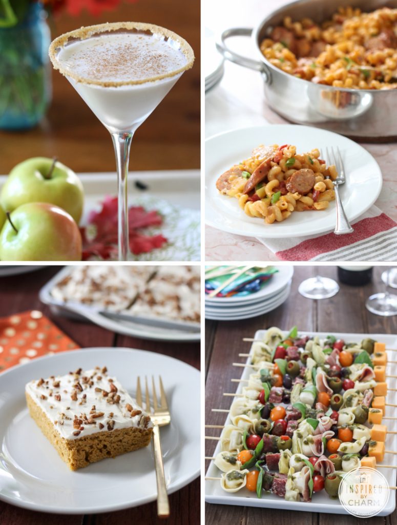 Fall Recipes via Inspired by Charm