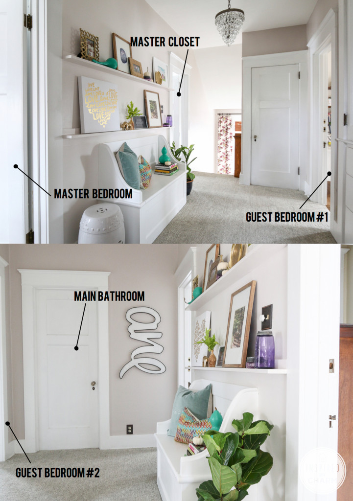 DIY Picture Ledges | Inspired by Charm