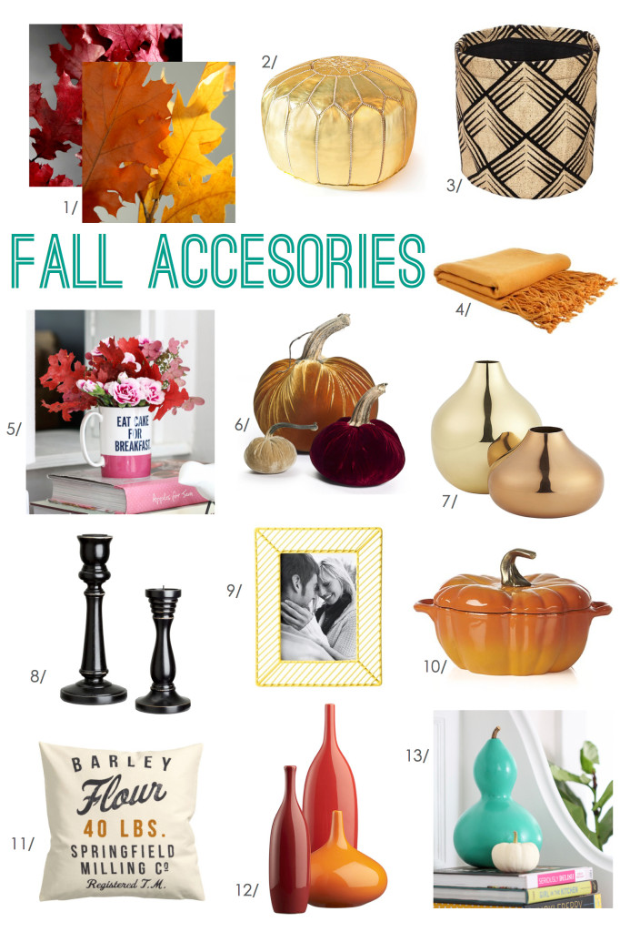 Fall Home Decor Accessories | Inspired by Charm