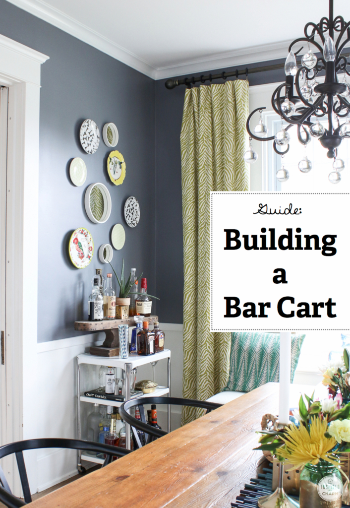 Building a Bar Cart | Inspired by Charm