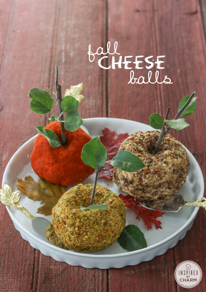Fall Cheese Balls | Inspired by Charm