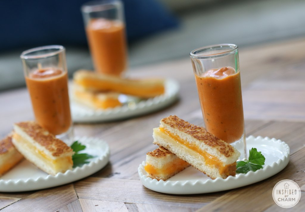 Mini Grilled Cheese Sandwiches | Inspired by Charm