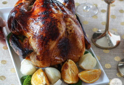 How to Brine a Turkey | Inspired by Charm