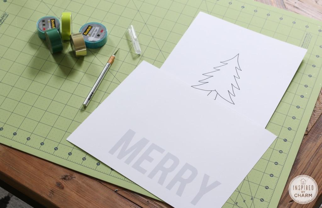DIY Christmas Art | Inspired by Charm
