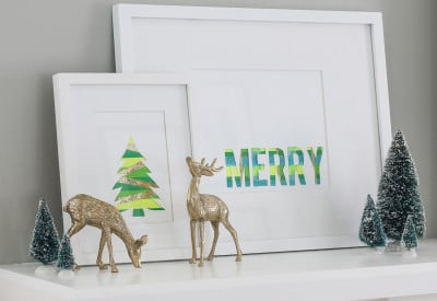 DIY Christmas Art | Inspired by Charm