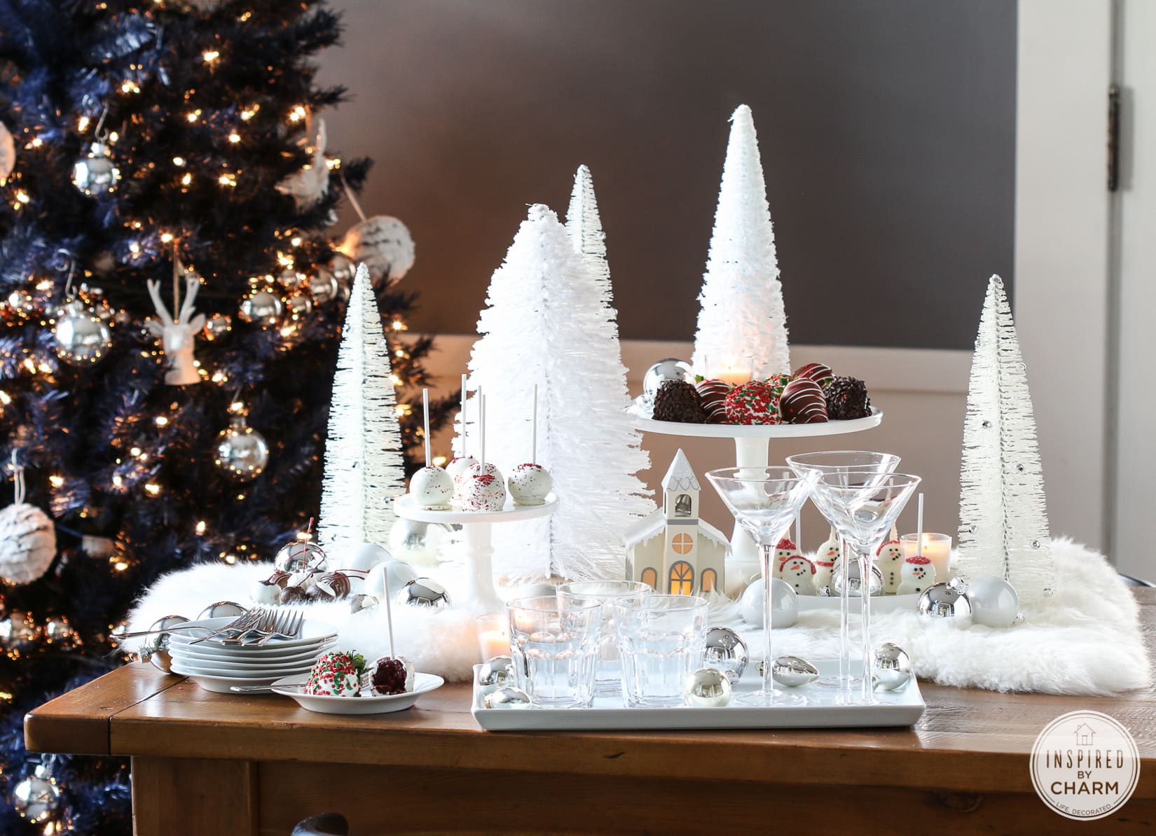White Christmas Party Theme Ideas Part - 40: White Christmas | Inspired By Charm