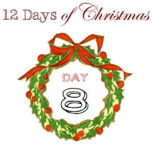 12 Day of Christmas : Day 8