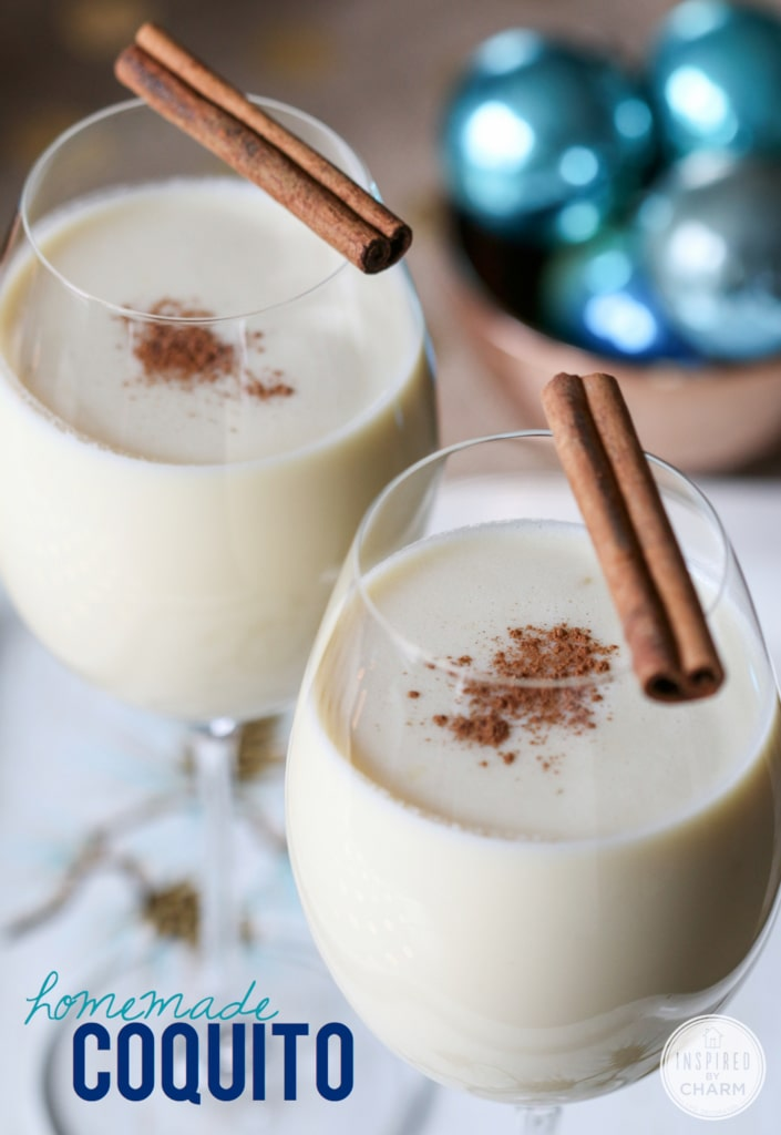 Traditional Coquito | Inspired by Charm