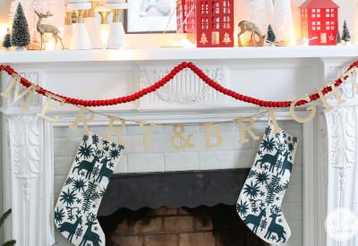 Christmas Shelfie   Inspired by Charm