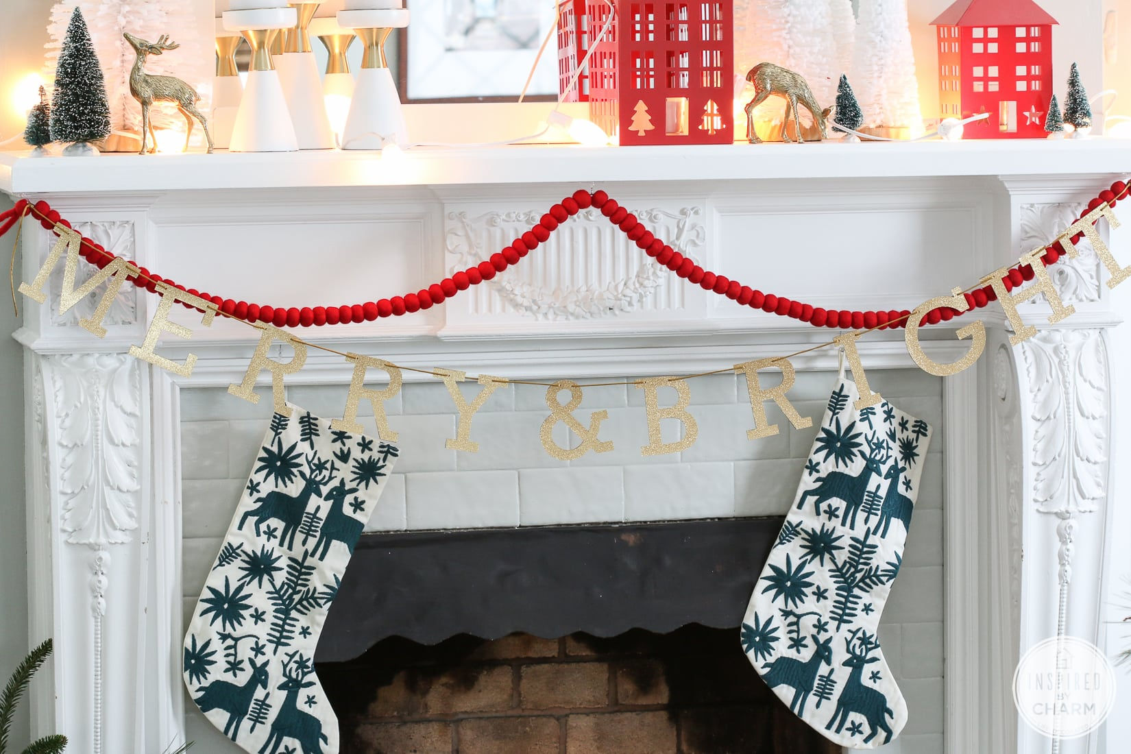 Christmas Shelfie | Inspired by Charm