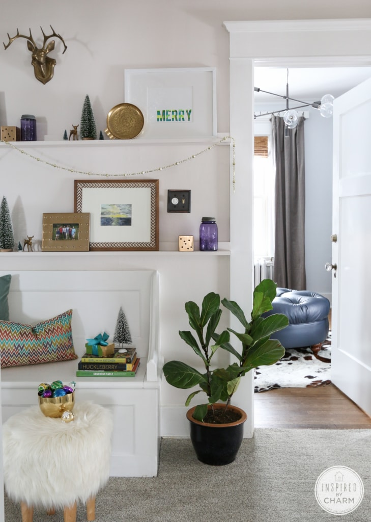 Christmas Shelfie | Inspired by Charm
