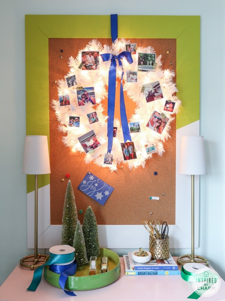 Festive Photo Wreath   Inspired by Charm