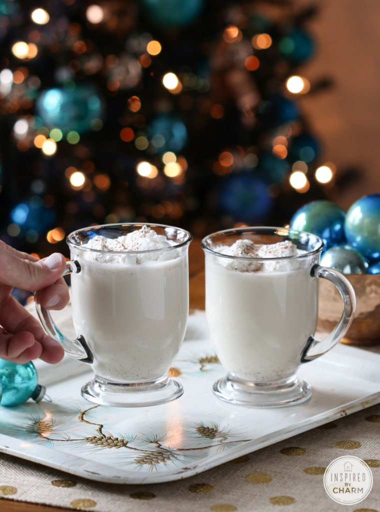 Homemade Eggnog | Inspired by Charm