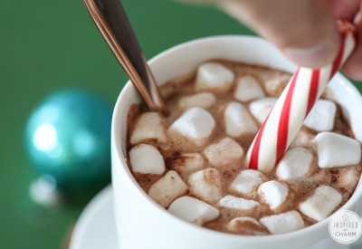 Hot Cocoa Bar and Homemade Recipe | Inspired by Charm