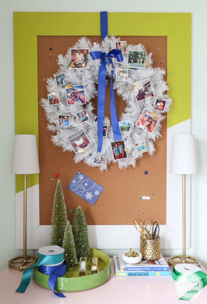 Festive Photo Wreath | Inspired by Charm