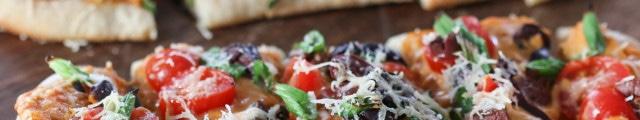 Mediterranean Flatbread | Inspired by Charm