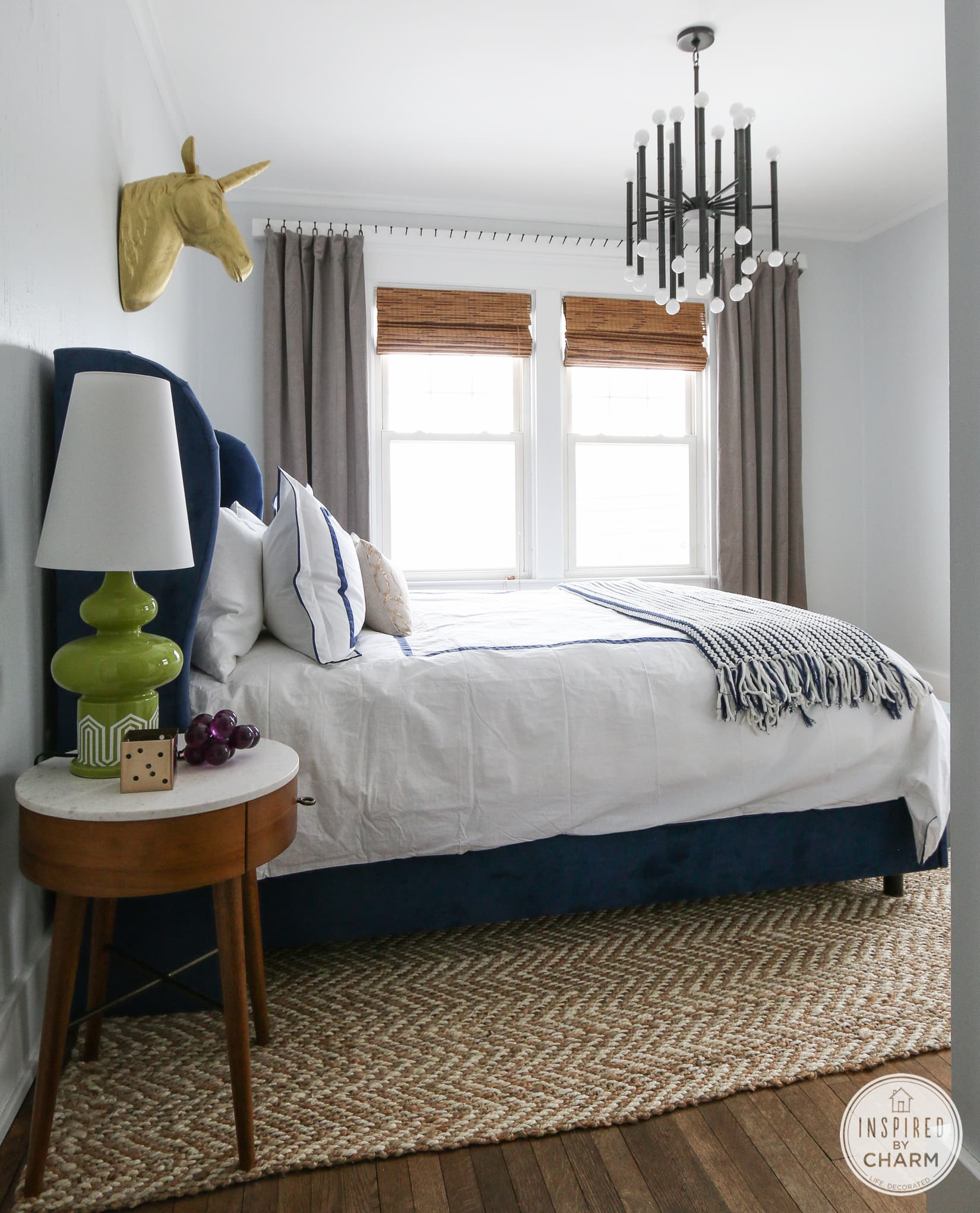 master bedroom update inspired by charm