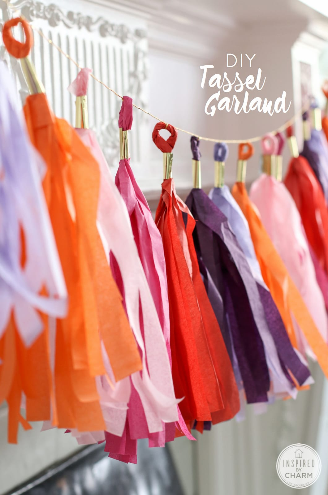 Diy Tassel Garland An Easy To Follow Tutorial