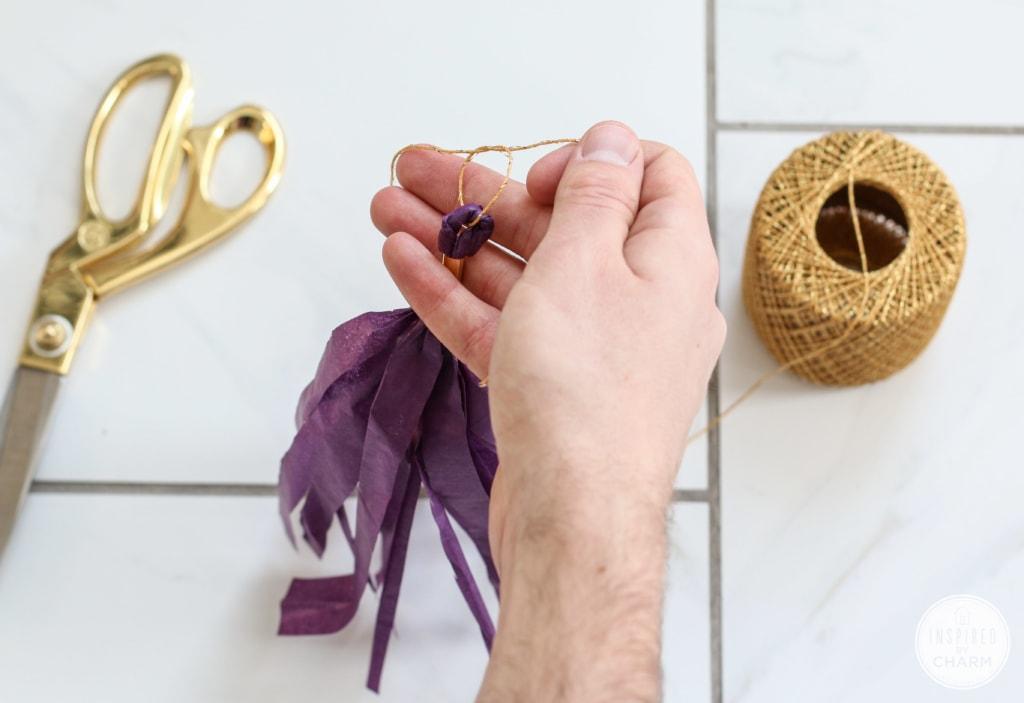 DIY Tassel Garland | Inspired by Charm