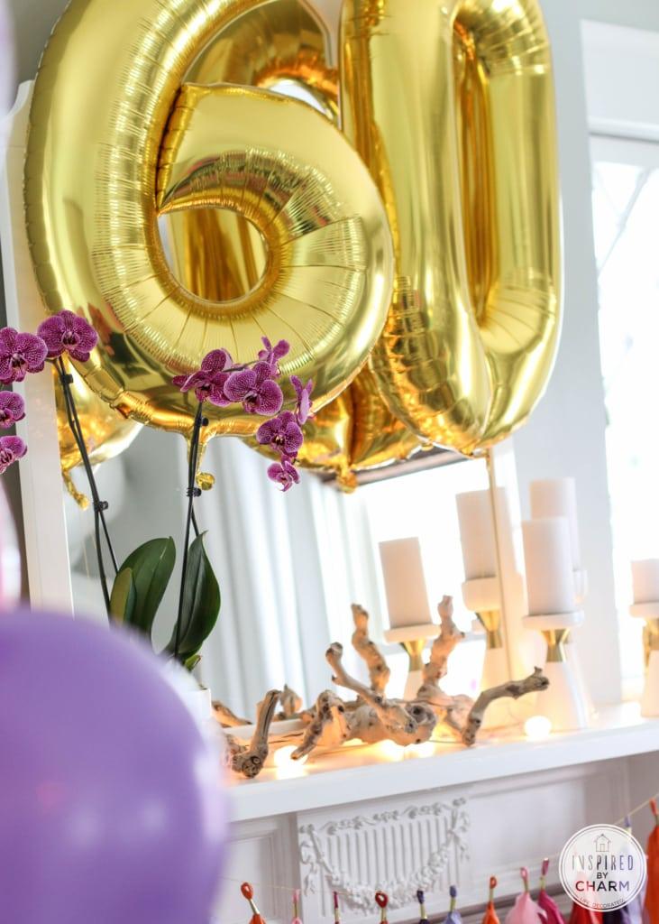 60th Birthday Celebration   Inspired by Charm