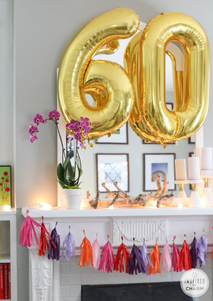 60th Birthday Celebration | Inspired by Charm