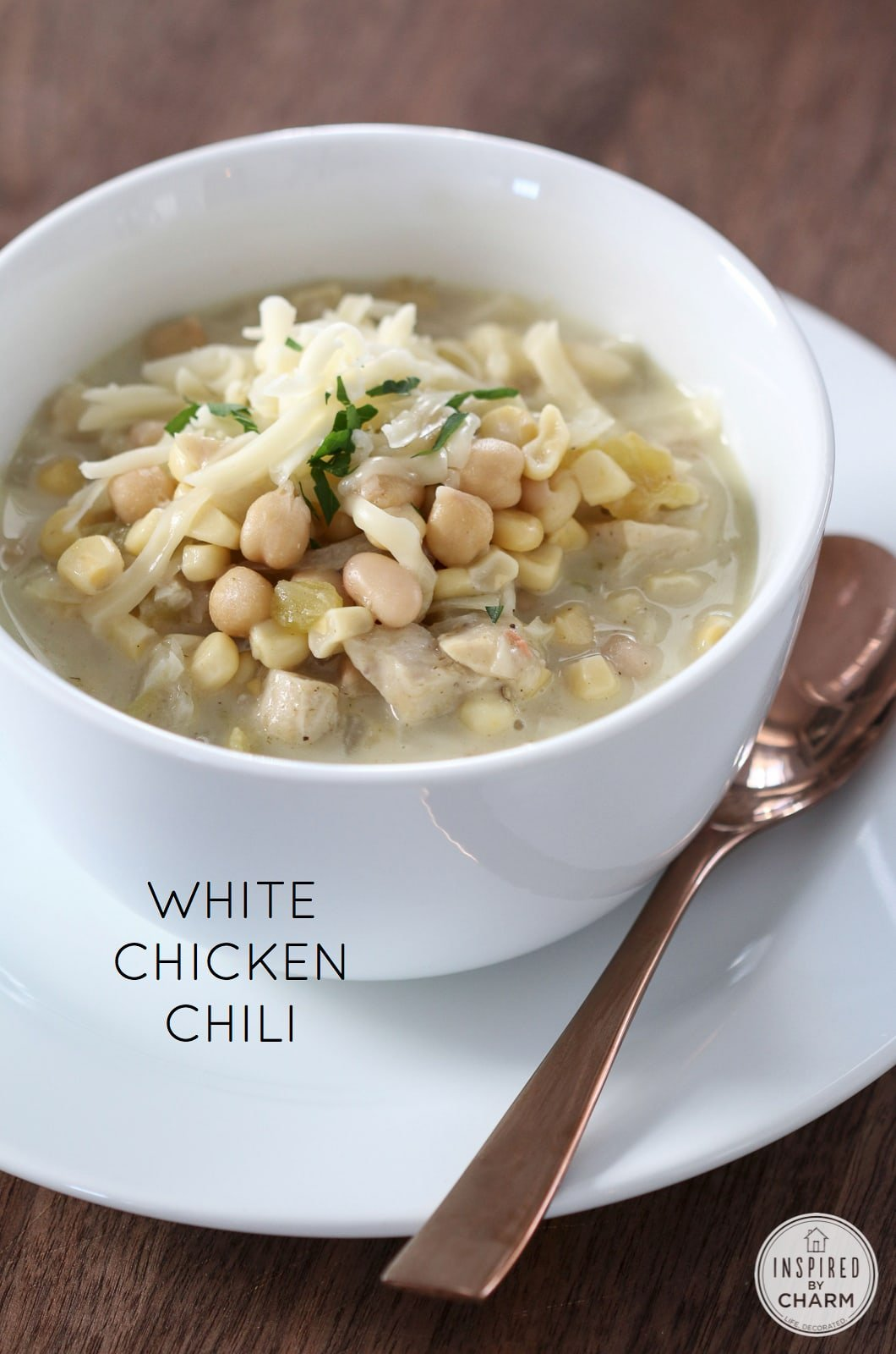 White Chicken Chili | Inspired by Charm