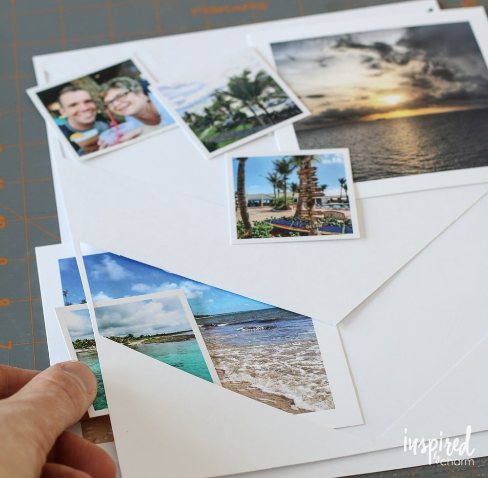DIY Travel Photo Collage | Inspired by Charm