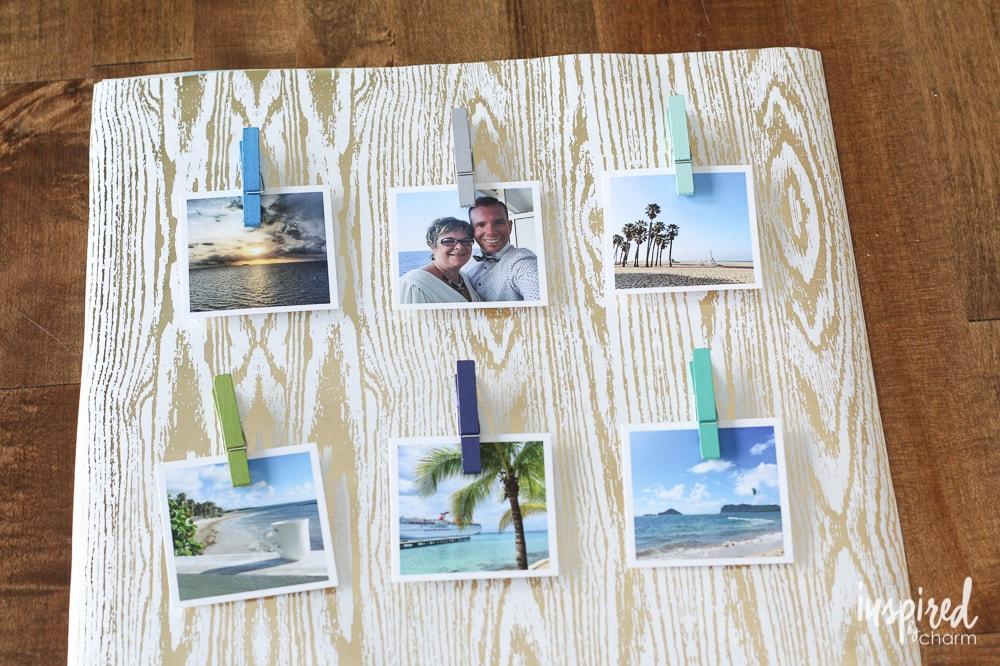Frame Collage Diy Diy Travel Photo Collage