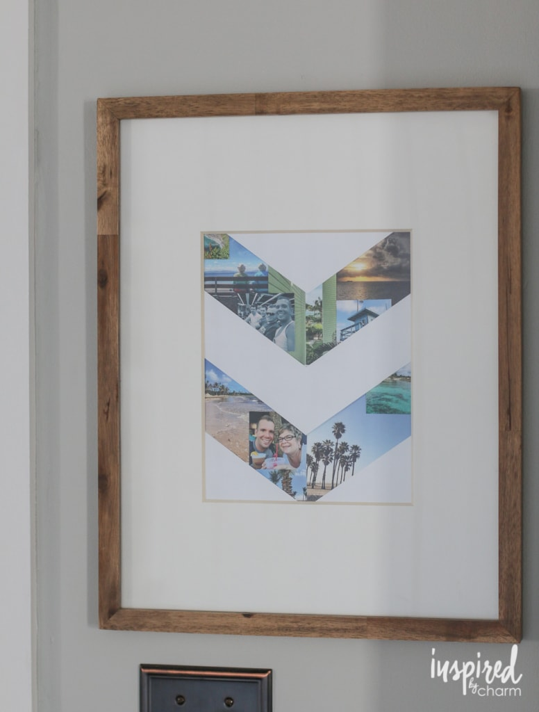 DIY Travel Photo Collage   Inspired by Charm