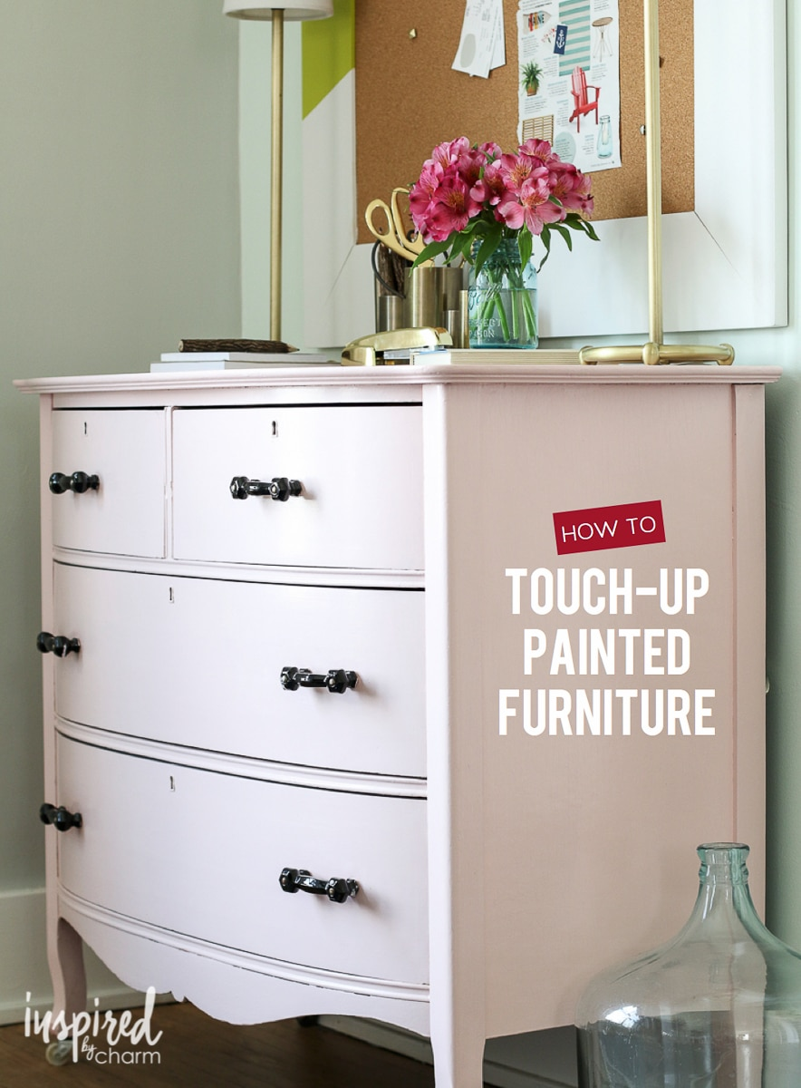 How To Touch Up Painted
