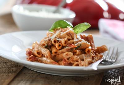 cheese tomato pasta