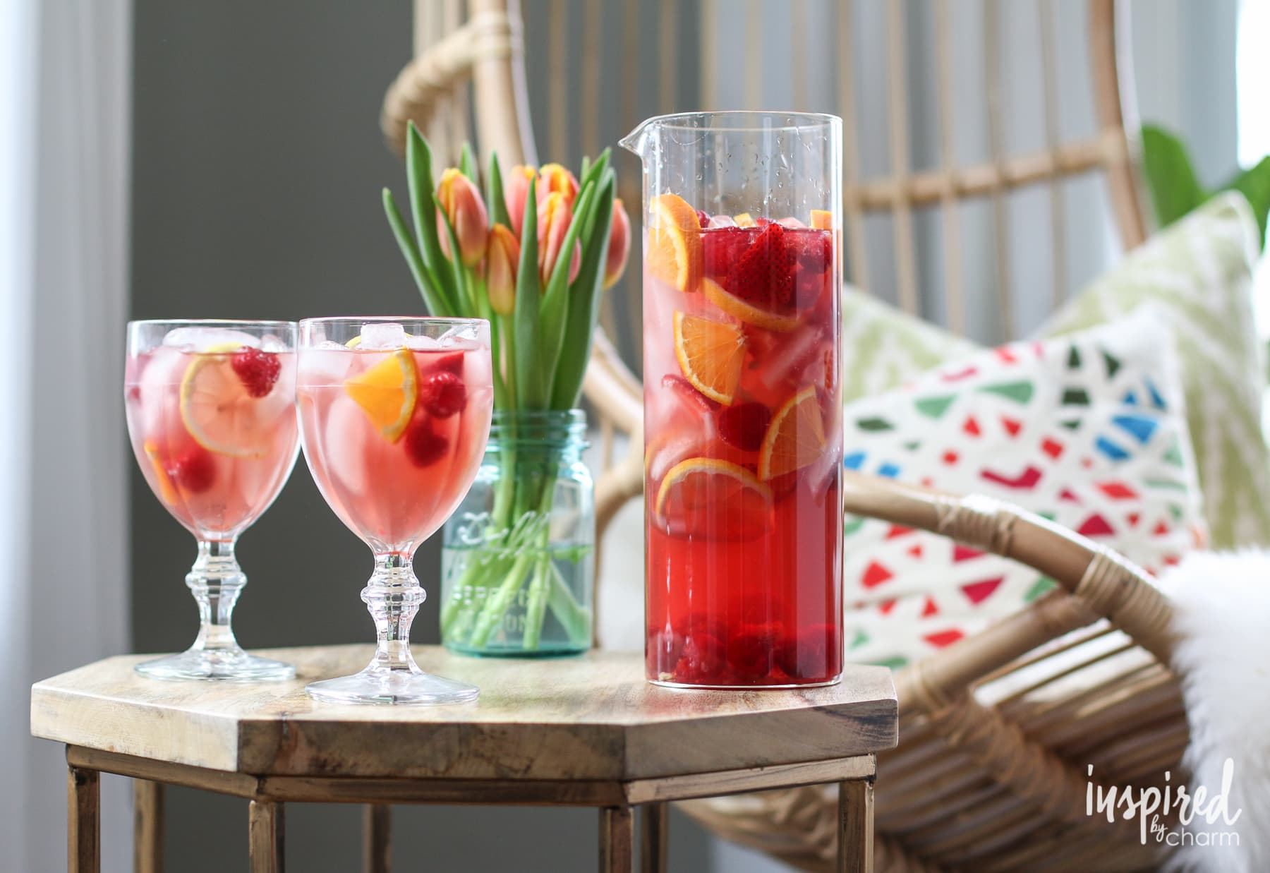 A Sangria Recipe for Every Season #sangria #recipe #cocktail