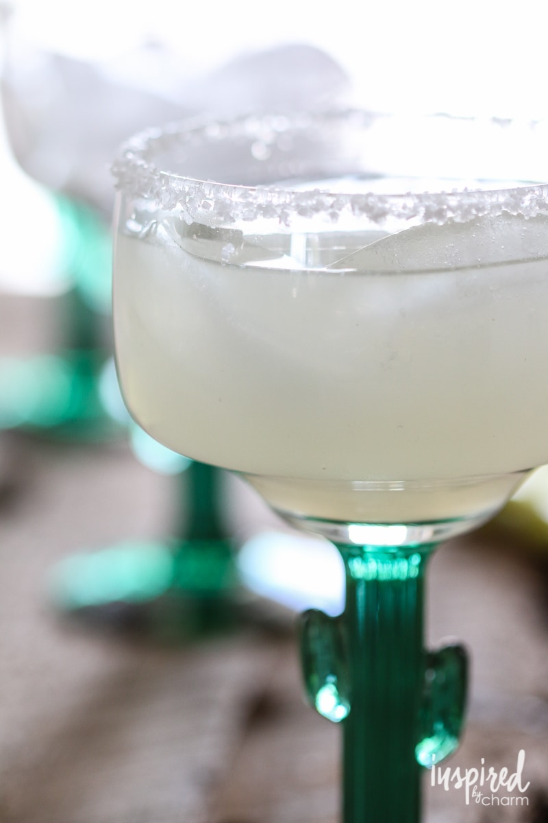 Classic Margaritas | Inspired by Charm