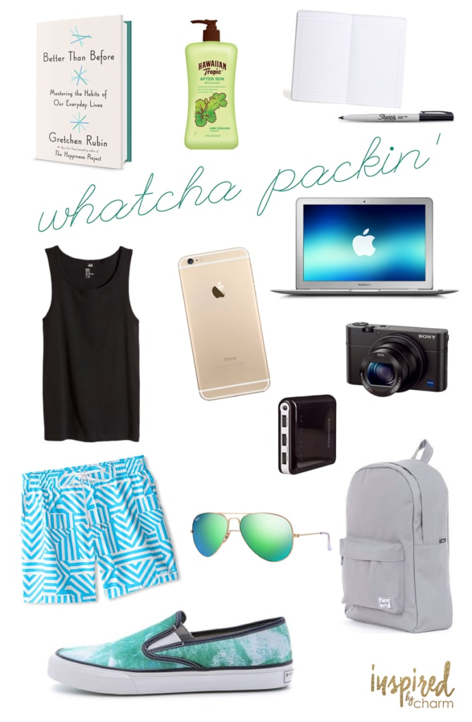 Whatcha Packin' | Inspired by Charm